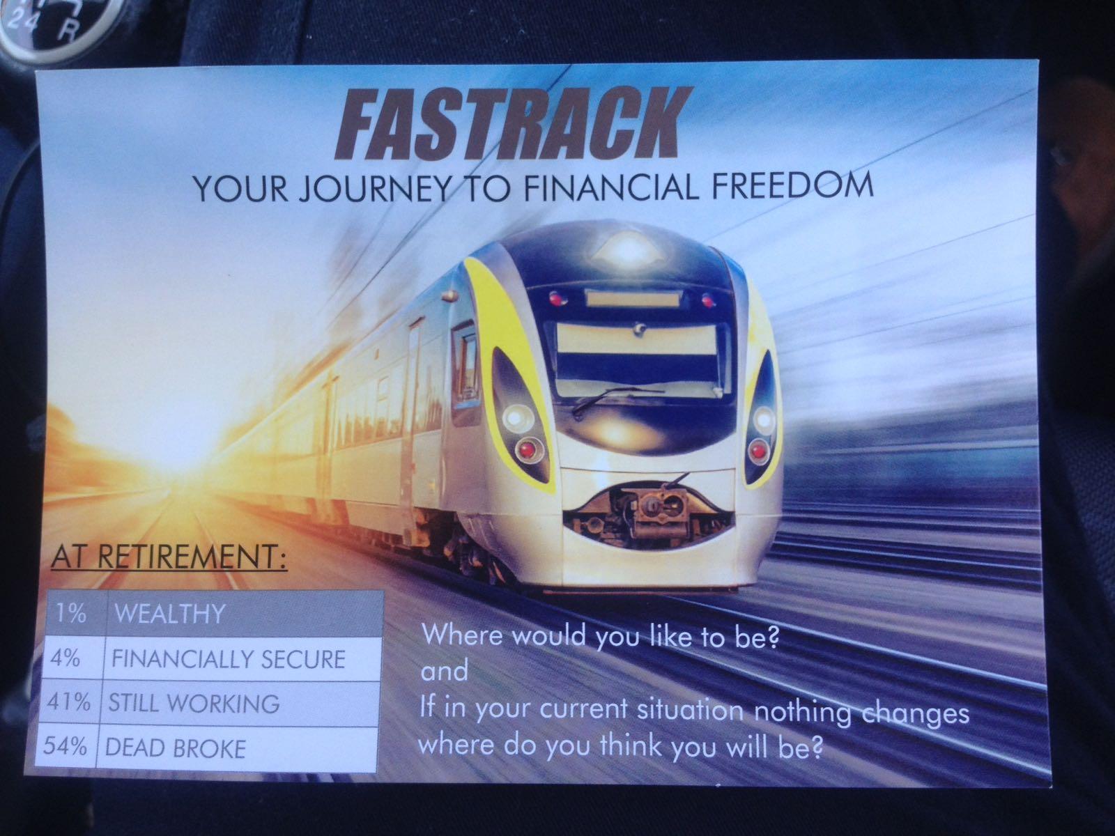 Journey to Financial freedom seminar @ Crosfield Community Centre