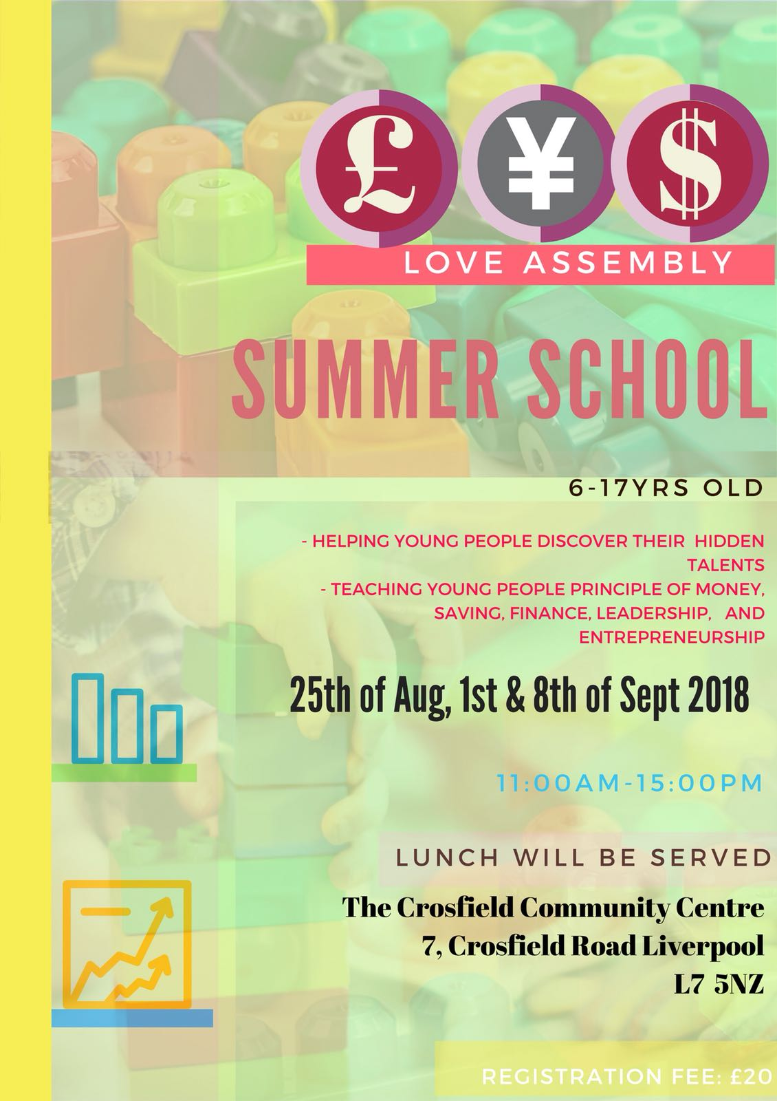 Summer School 2018 @ Crosfield Community Centre