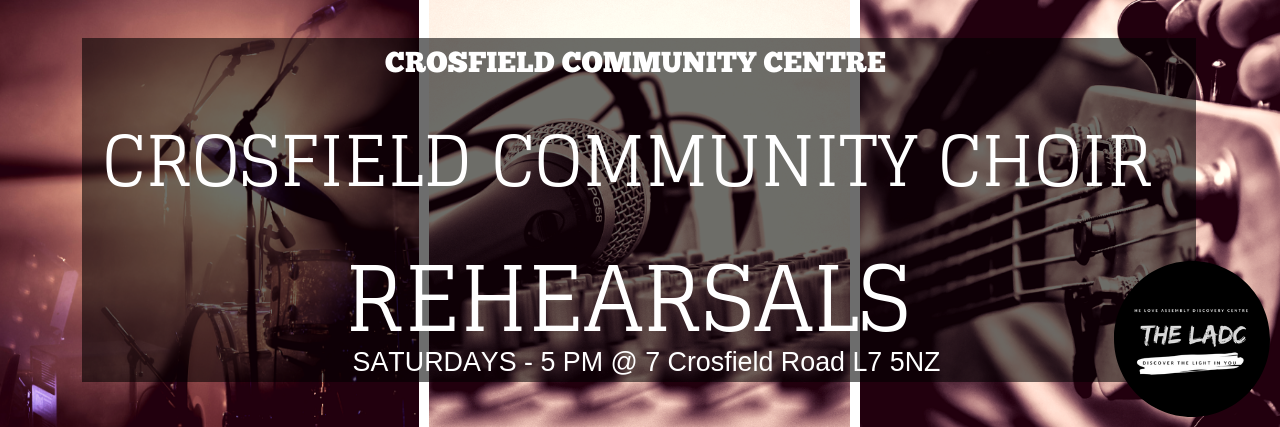 Crosfield Community Choir @ Crosfield Community Centre