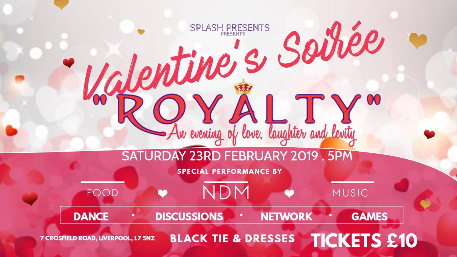 Valentine Soiree 2019 @ Crosfield Community Centre